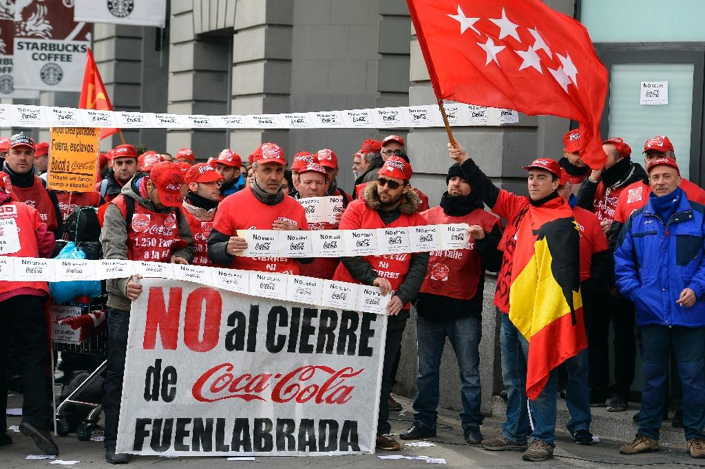 Court backs Coca Cola settlement in Spain jobs row