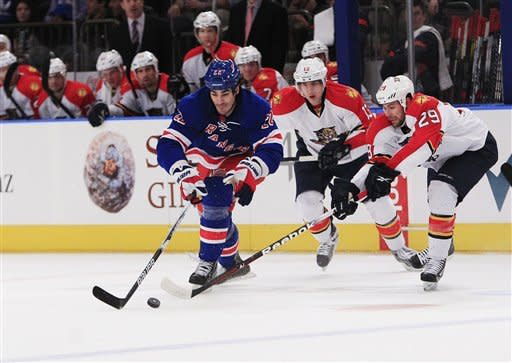 Gaborik puts Rangers on top of NHL with OT goal