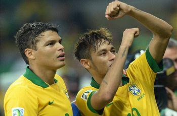Thiago Silva: Neymar can be Brazil's saviour