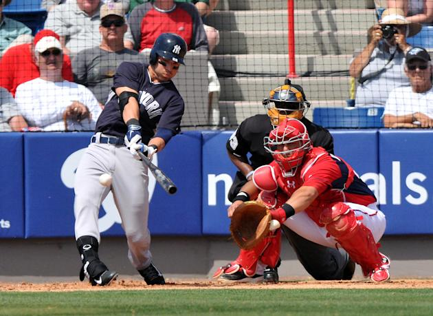 MLB: Spring Training-New York Yankees at Washington Nationals