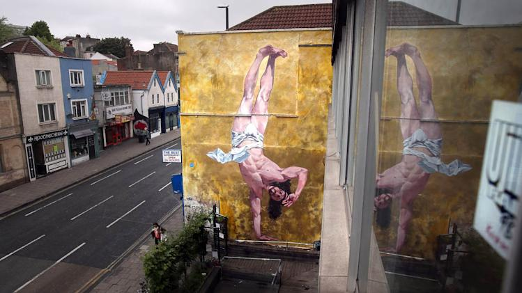Controversial Mural Of Breakdancing Jesus Is Unveiled