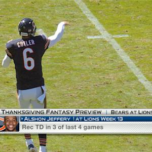 'NFL Fantasy Live': Chicago Bears vs. Detroit Lions Thanksgiving preview