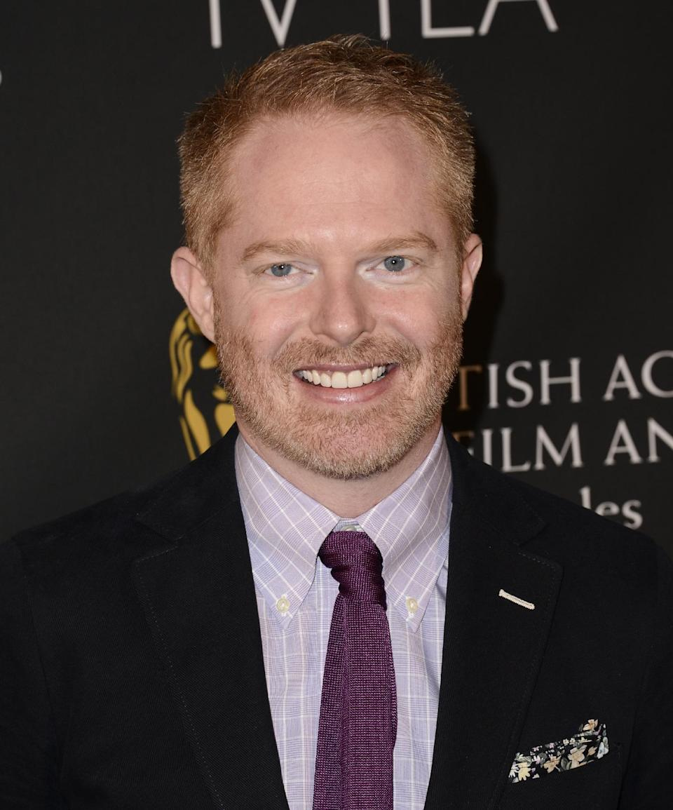 Actor Jesse Tyler Ferguson arrives at the BAFTA's Los Angeles TV Tea party at the SLS Hotel on Saturday, Sept. 21, 2013 in Los Angeles. (Photo by Dan Steinberg/Invision/AP)