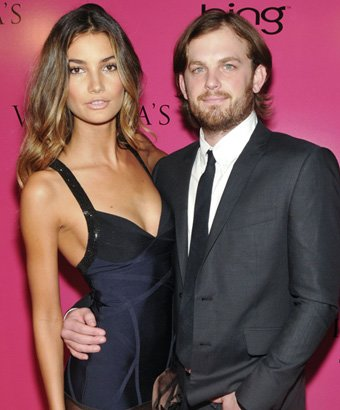 Caleb Followill and Lily Aldridge