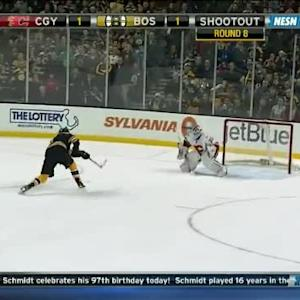 Karri Ramo Save on Milan Lucic (00:00/SO)