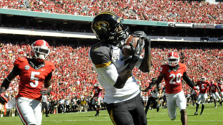 WR Washington leading Missouri to surprising start