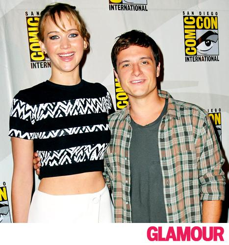 "Josh Hutcherson on Friendship With Jennifer Lawrence: ""We Can't Get Through a Take Without Laughing"""