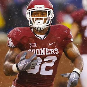 Samaje Perine sets single game rushing record