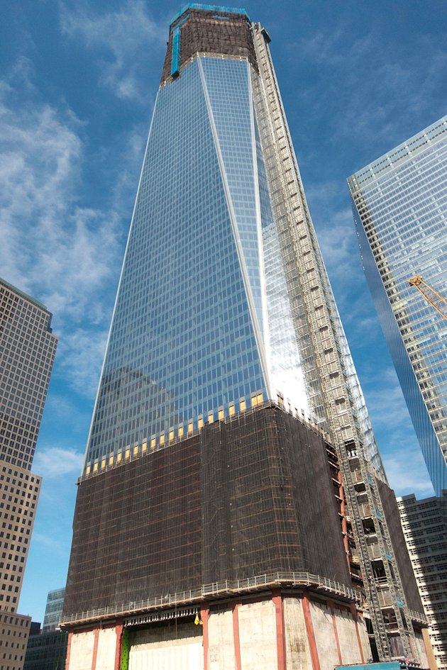 El avance del nuevo World Trade Center
