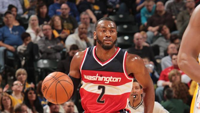 Wall, Nene lead Wizards over Pacers 97-90