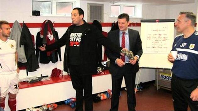 League One - Terminally-ill fan's emotional pre-match talk inspires team to win