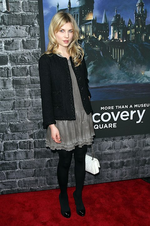Harry Potter the Experience 2011 NYC Clemence Poesy