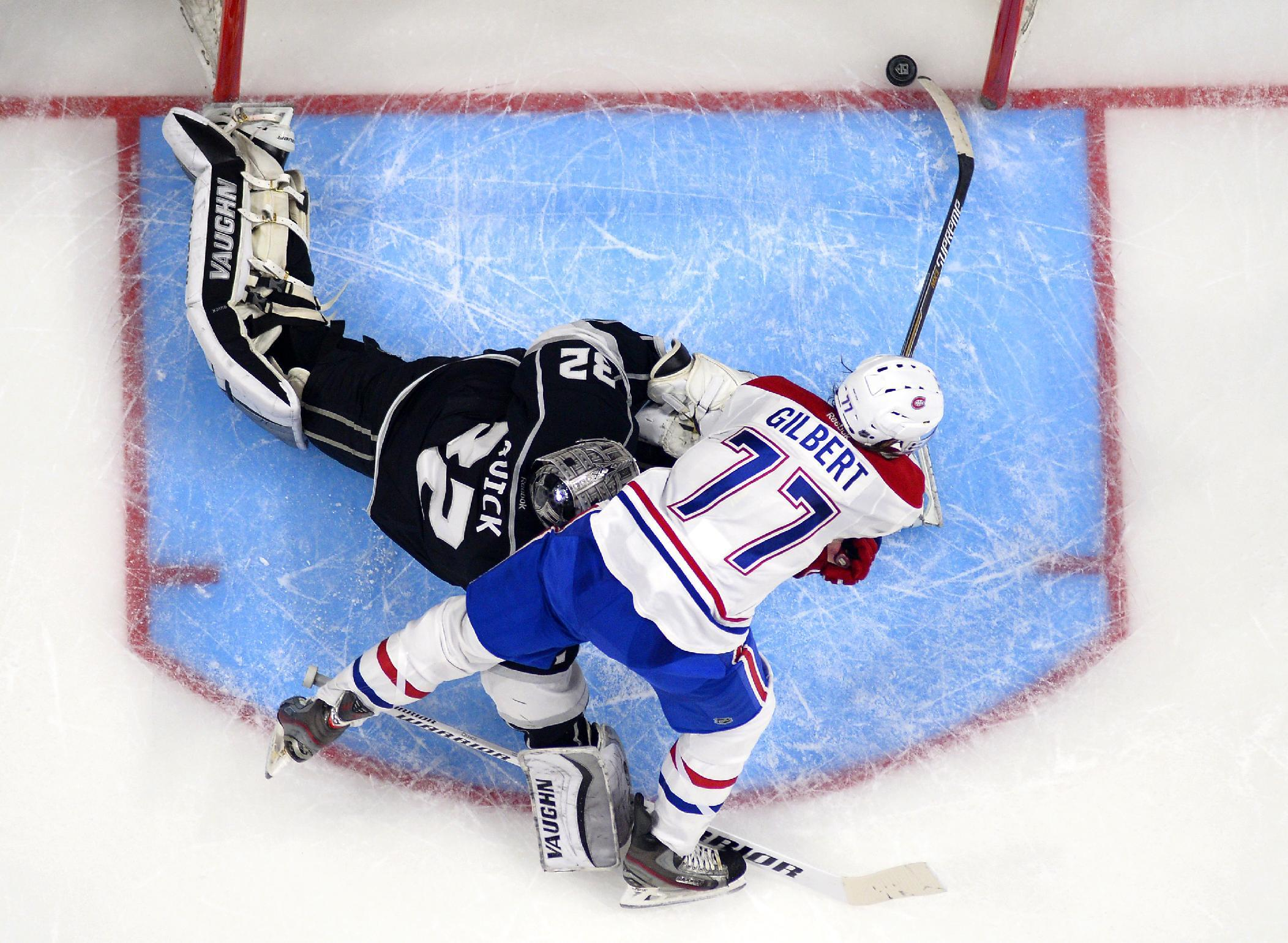 Gaborik leads LA Kings' rally past Montreal, 4-3 in shootout