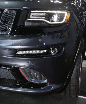 Bling is the thing at Detroit auto show