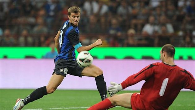 2012-2013 Europa League Inter Samuele Longo