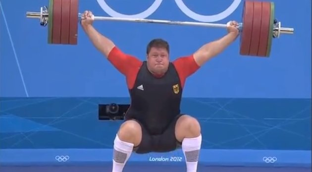> Aug 7 - German weightlifter drops 432-pound barbell on his head, walks away (PHOTOS) - Photo posted in BX Daily Bugle - news and headlines | Sign in and leave a comment below!