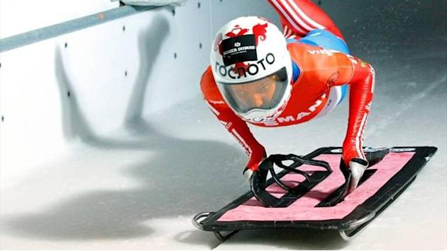 Skeleton - Nikitina wins Igls skeleton
