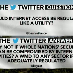 Should Internet Access Be Regulated Like a Utility?