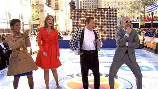 PSY Teaches Matt Lauer to Dance Like a 'Gentleman'