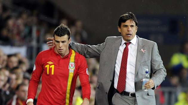 Gareth Bale, Chris Coleman (Reuters)