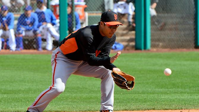 MLB: Spring Training-San Francisco Giants at Chicago Cubs