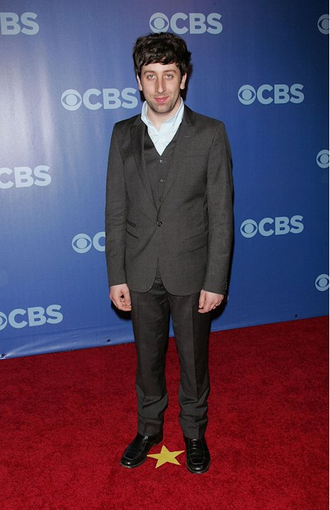"Simon Helberg (""Big Bang Theory"") attends the 2010 CBS Upfront at The Tent at Lincoln Center on May 19, 2010 in New York City."