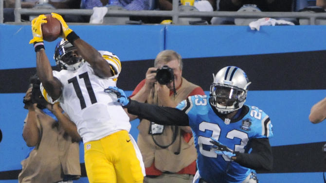 Roethlisberger, Steelers top Panthers 37-19