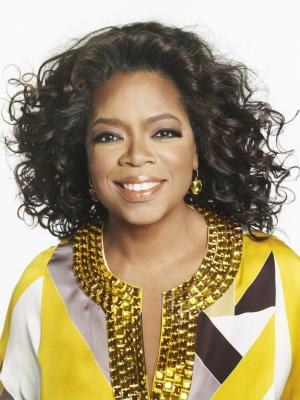 Oprah Winfrey poses in a publicity photo for her cable network OWN, 2011 -- OWN: The Oprah Winfrey Network