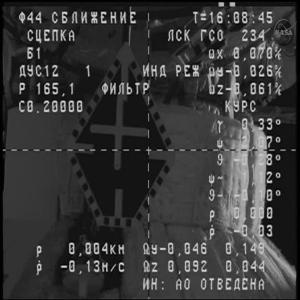 Raw: Russian Cargo Ship Docks at Space Station