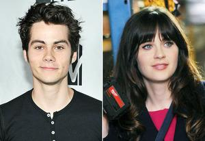Dylan O'Brien, Zooey Deschanel | Photo Credits: Theo Wargo/Getty Images, Ray Mickshaw/FOX