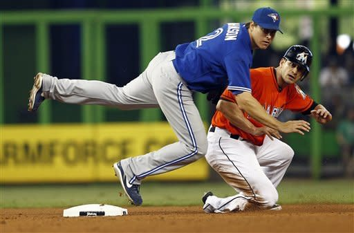 Rasmus hits grand slam in ninth to lift Blue Jays