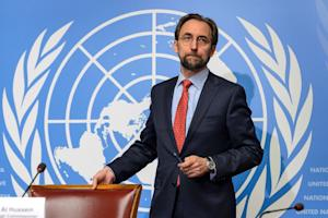 UN High Commissioner for Human Rights Zeid Ra'ad …