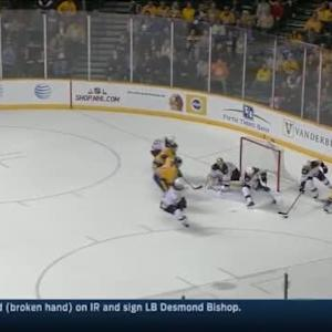 Tuukka Rask Save on Roman Josi (18:33/3rd)