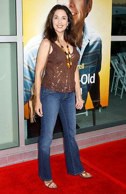 Premiere: Stepfanie Kramer at the Hollywood premiere of Universal Pictures' The 40-Year-Old Virgin - 8/11/2005