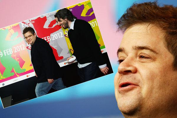 Star Patton Oswalt und Regisseur Jason Reitman