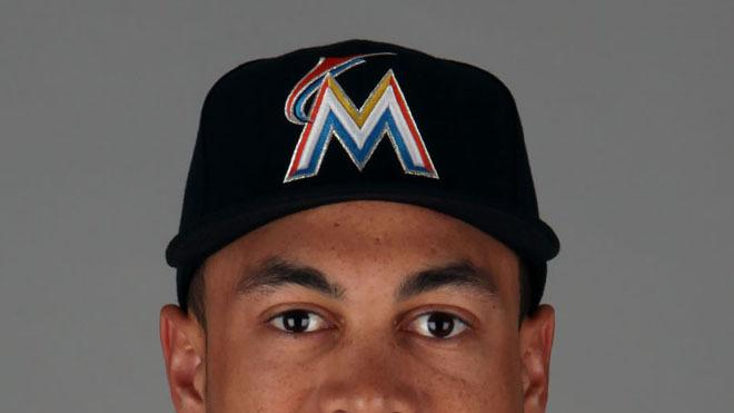 Giancarlo Stanton Baseball Headshot Photo