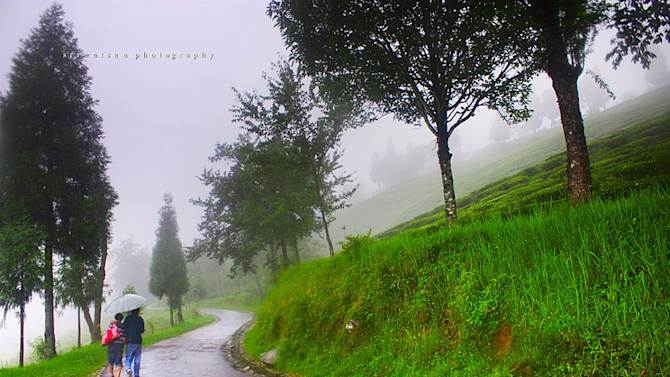 Monsoon in Gangtok