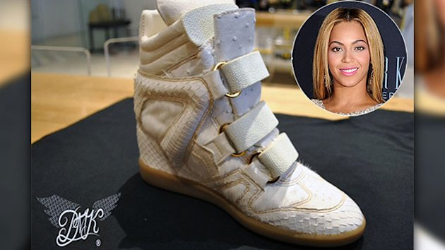 Beyonce Under Attack for Exotic Skins Sneakers