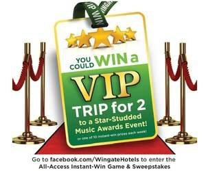 """Wingate by Wyndham Hotel Brand Launches """"All-Access"""" Sweepstakes"""