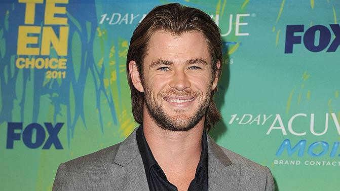 Chris Hemsworth Teen Choice Awards