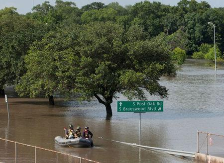 Hundreds seek safety from Texas floods, severe weather kills 16