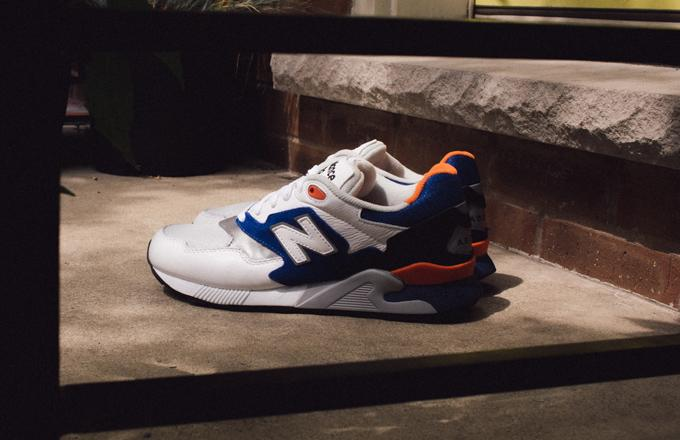 "Kicks of the Day: New Balance ML878AAB ""White/Blue/Orange"""