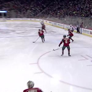 Ovi notches hat trick
