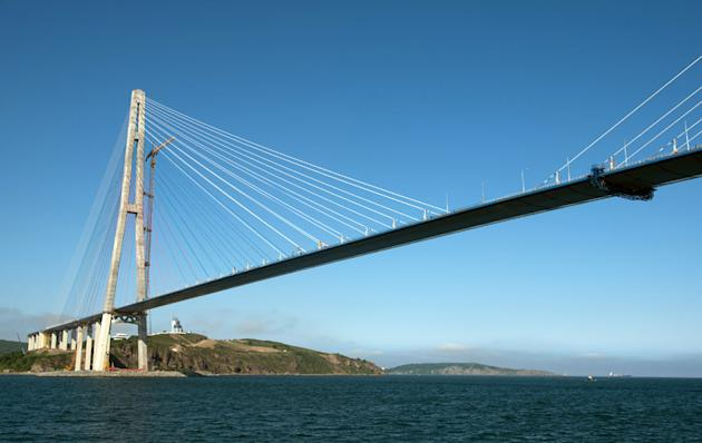 world's longest cable bridge