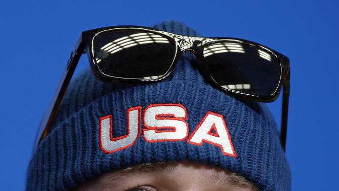 FILE - In this Thursday, Feb. 6, 2014 file photo United States' Bode Miller looks up during a US ski team press conference at the Gorki media centre at the Sochi 2014 Winter Olympics, in Krasnaya Polyana, Russia. Bode Miller has revealed that he needs Lasik eye surgery and regrets not having the operation before the Olympics. After dominating the training sessions, Miller finished only eighth in Sunday's downhill race. (AP Photo/Christophe Ena, File)