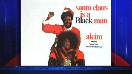 Moment of Zen: Santa Claus Is a Black Man
