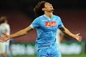 Cavani: Scudetto is within reach for Napoli