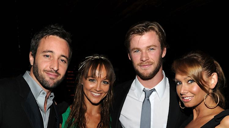 Australians In Film's 2010 Breakthrough Awards Alex O'Loughlin Sharni Vinson Chris Hemsworth Kim Johnson