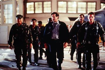 Robert Loggia and Bill Pullman in 20th Century Fox's Independence Day