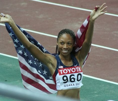 Track Star Allyson Felix Aims for Two Sprint Golds at the London Games